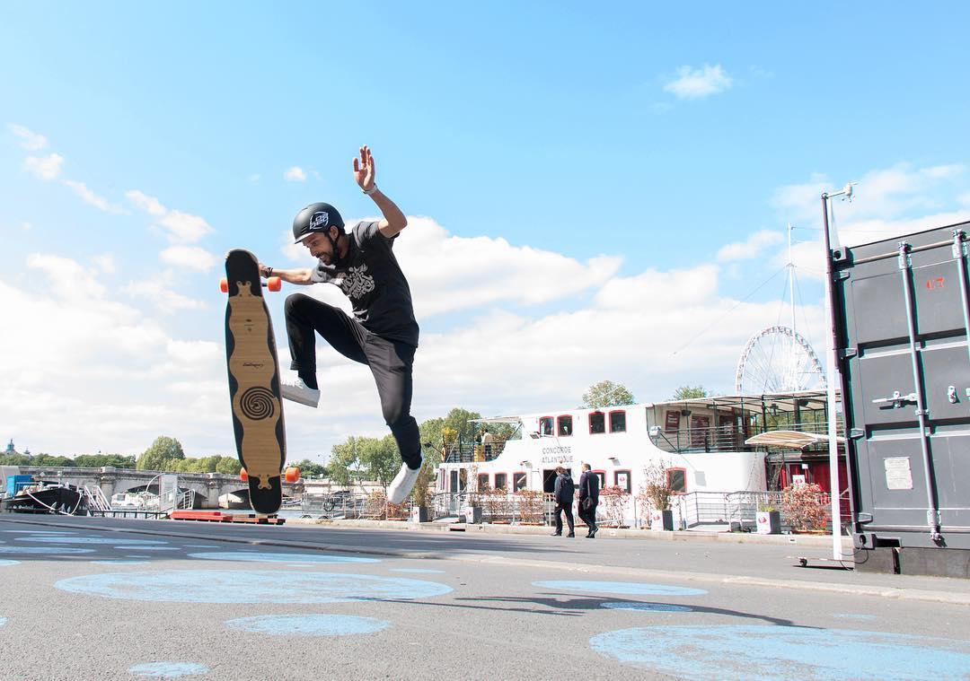 #OrangatangAmbassador @lotfiwoodwalker levitating in style