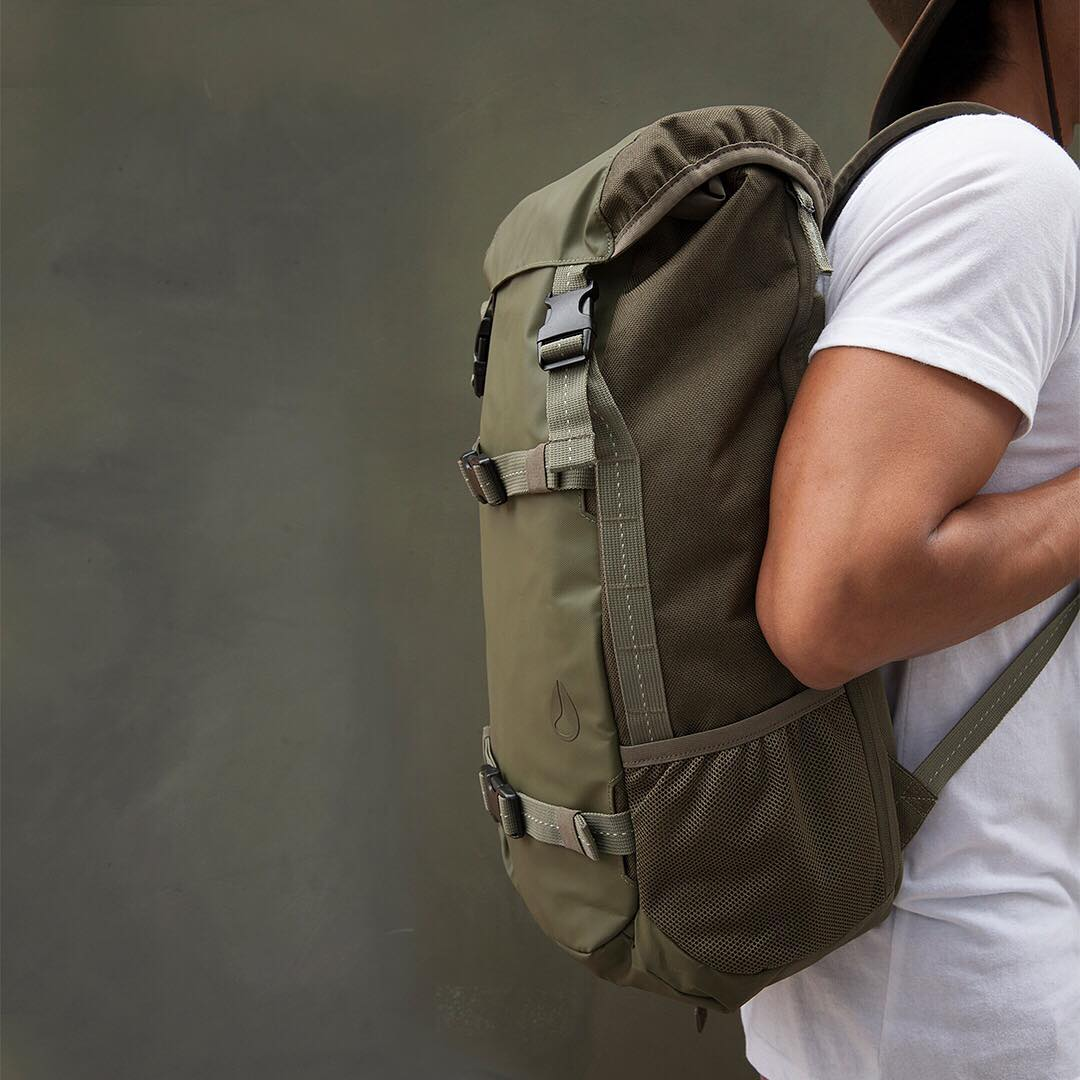 Forward movement. The #Landlock backpack, built for the long haul.