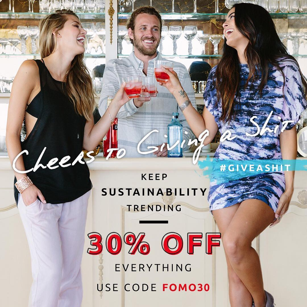Sunday Funday SALE #giveashit #sustainability