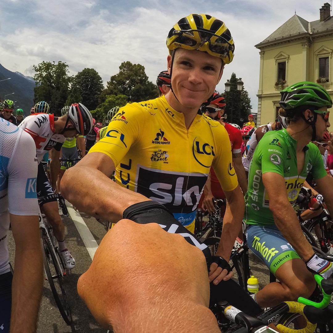 And that's a three-peat for @ChrisFroome! Bravo for taking your third @letour title today. #