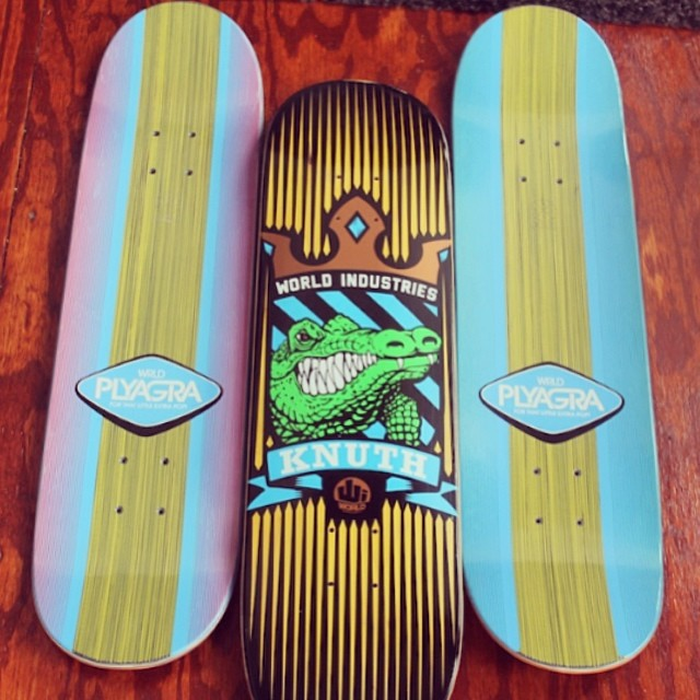Hey @worldindustries! Thank you SO much for the super rad skate decks. We appreciate the top quality products and the extra pop for our kids to learn to Ollie and move into bigger tricks! #skate #art #grateful #stokedtoskateboard