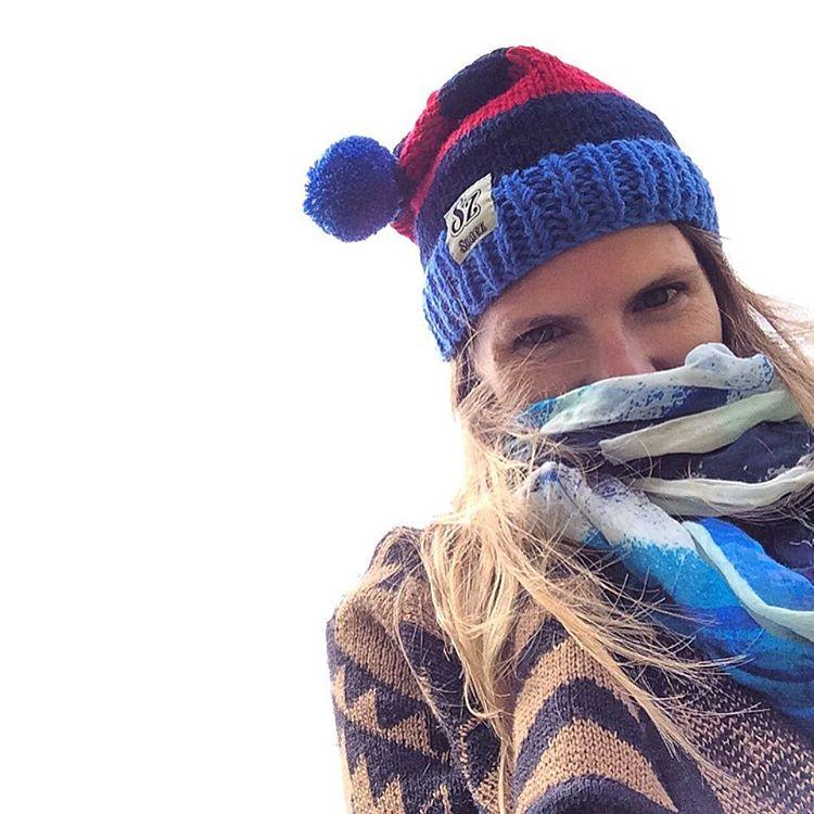 Lunes frio: NO TE TENEMOS MIEDO  habemus #GorroConOnda para combatirte