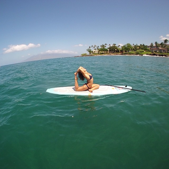 Our first Waterwoman Challenge shout out goes to Sarah Callaham, Boga and Local Honey ambassador in Maui and teacher at the Maui Yoga Shala. We have watched this beauty take her mad yoga and pilates skills from the land to the sea and are very...