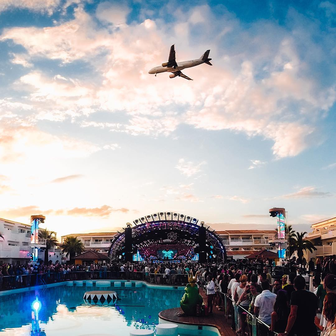 @markjameschase closing out this #MusicMonday with an @afrojack set at #sunset in #Ibiza! #GoPro #GoProTravel #GoProMusic #Spain #ibiza2016 #ibz #ibzialife #ushuaia
