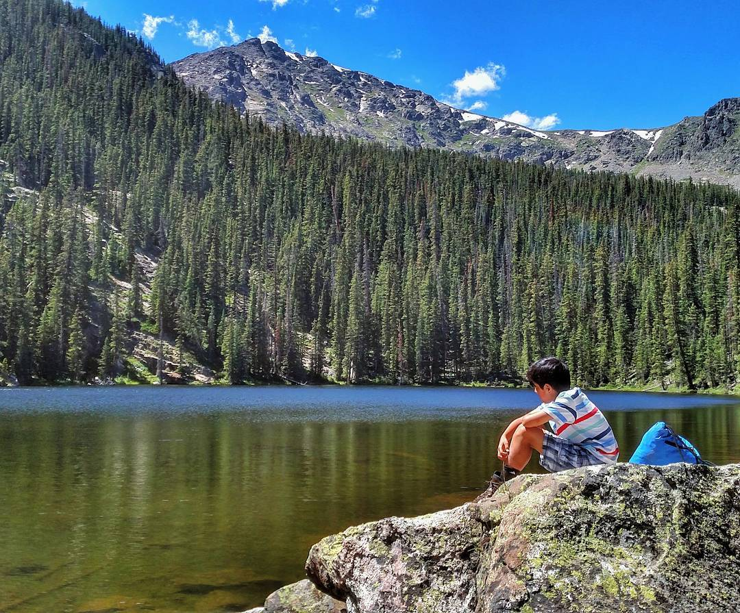 Great shot from the Whitney Lakes hike the other day! Thanks to @ilikemtns for guiding our youth and for the stellar photo