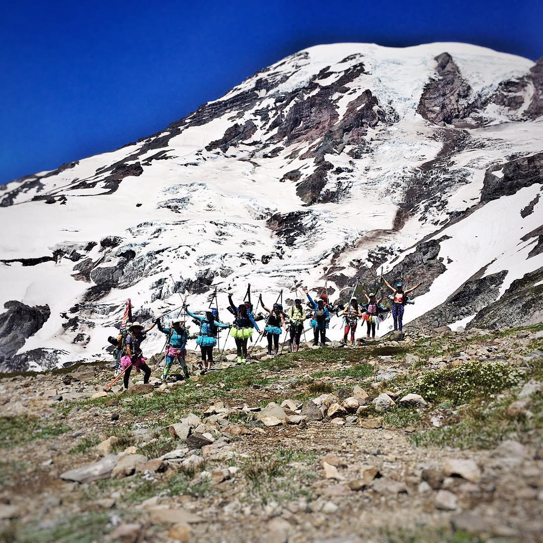 Rainier Climb Series 1/5: Every journey starts with an idea, and behind every idea there is a team of people who propel it into action. The #SheJumpsRainier support team was there to help our fundraising climbers get to the top by schlepping up tons of...