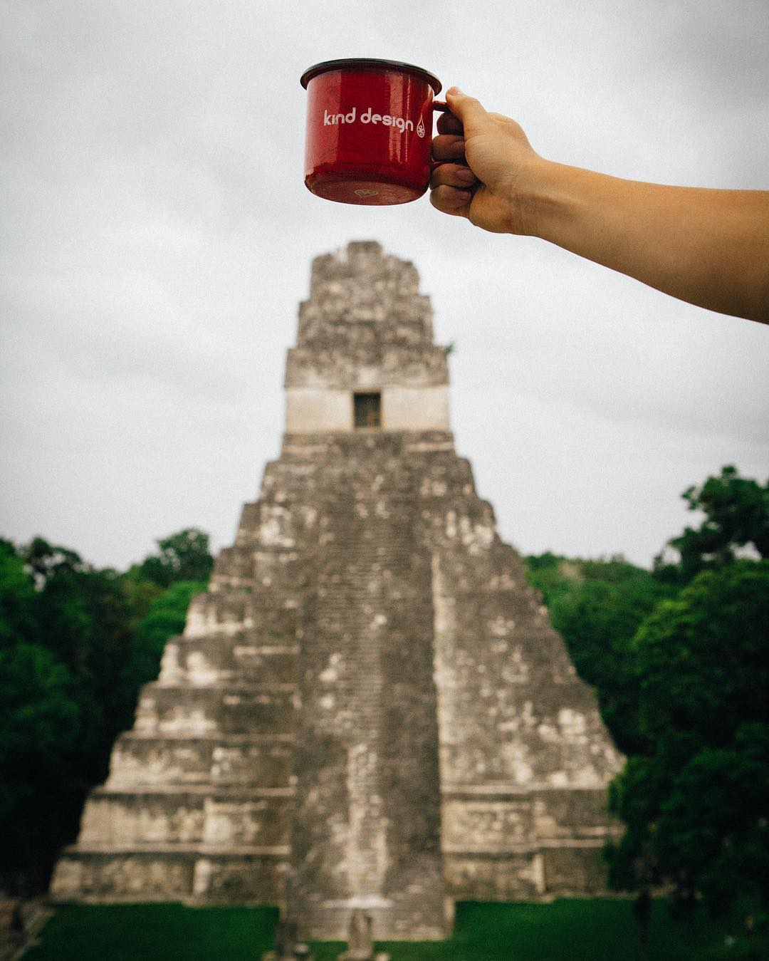 Cheers... To exploring the world!  Thanks for the shot from Tikal @ksundman
