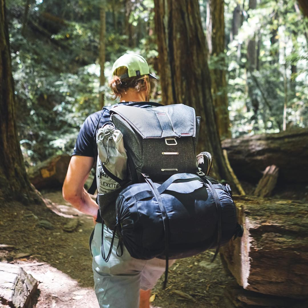 We spent the last few days continuing to field test the Everyday Backpack in the wilds of Northern California. It is a beast. (30L model pictured) #findyourpeak #pdkickstarter16