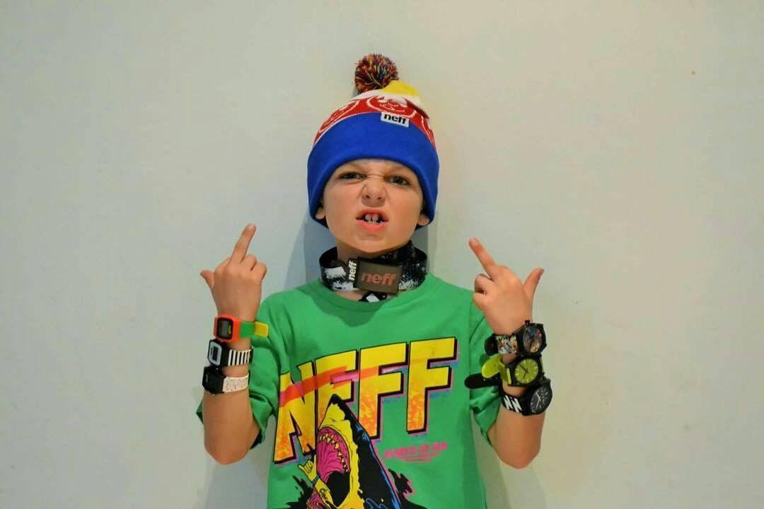 @maddoxpetrina -  Neff is in Tha house !!! Tantos @neffargentina #neffskate #foreverfun @neffheadwear #skate #NeffArgentina #ForeverFun #youreoneofusnow