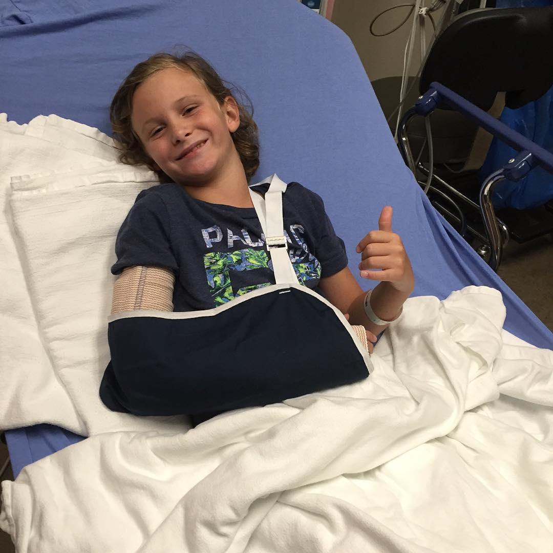 Email from a Dad : Thank you, thank you, thank you!! My 9 year old son and I love to skateboard together, and have for a few years now, usually Saturday or Sunday mornings. Sunday, July 24, 2016, his S1 LIFER HELMET did exactly what you guys designed...