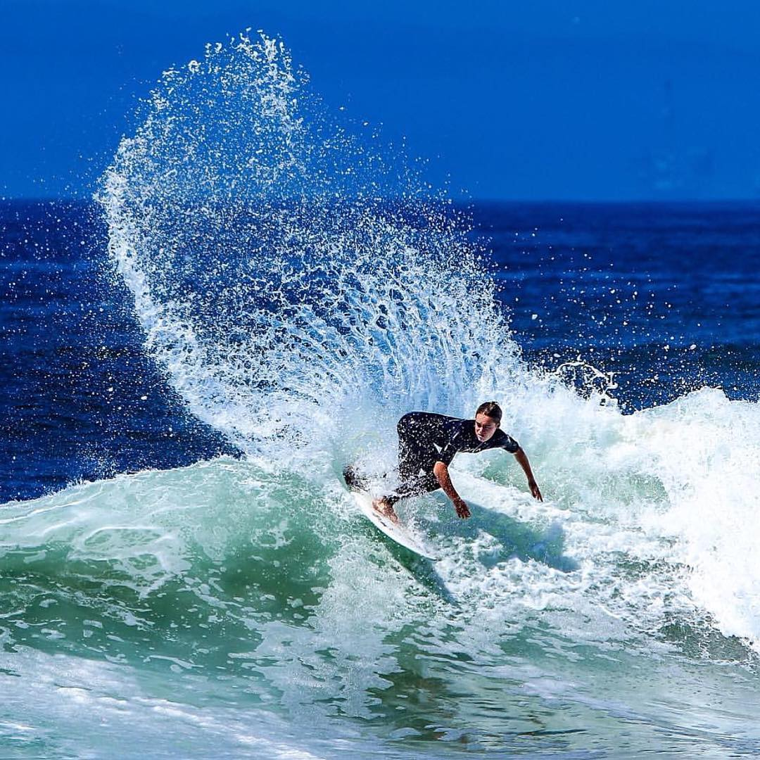 @instagrom ripping the #usopenofsurfing in Huntington Beach, CA yesterday! - #SeaSnakes #VonZipper #SupportWildLife