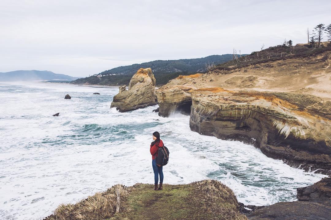 Dreaming of the Oregon Coast.