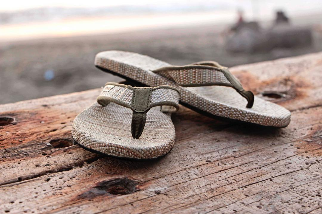 The #GrassMatSandal is only $40 this week!