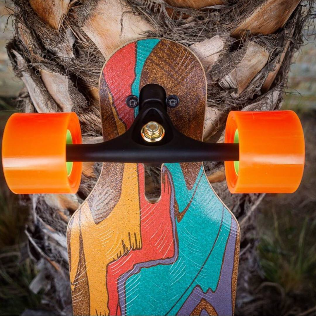 Textures of the Loaded Icarus.  Photo: @robras  #LoadedBoards #LoadedIcarus #TheIcarus #Icarus #Orangatang #Orange #Kegels