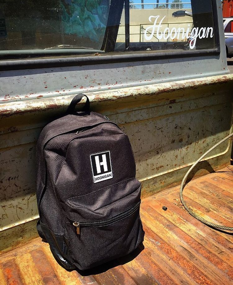 We redesigned our Standard Issue backpack for this season. Head over to #hooniganDOTcom to peep the changes. #supporthooniganism #backpack