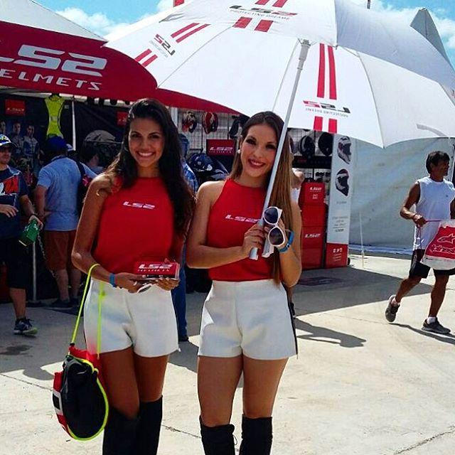 ¡Ya se vive el #MotoGP en Argentina!  Hoy apertura de puertas en el circuito y día de práctica libre. ¡No te lo pierdas! #LS2Argentina #ArgentinaGP
