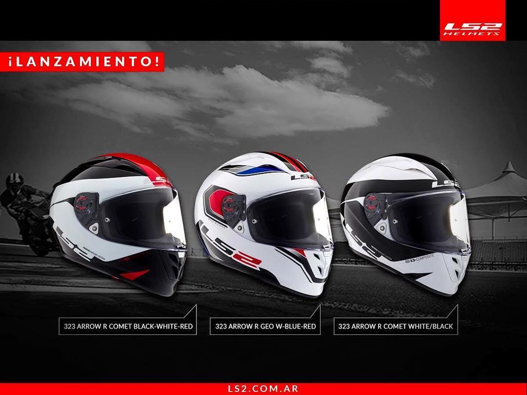 Llega un nuevo casco... El FF-323 está listo para salir a la pista.  Conseguilo en www.ls2.com.ar
