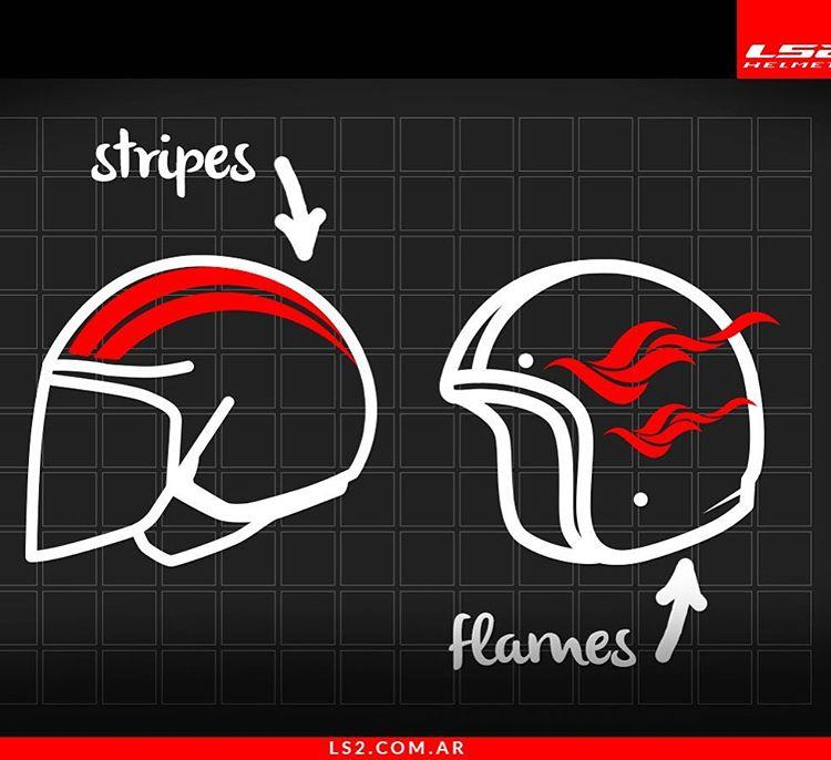 Si tuvieras que diseñar el casco perfecto, ¿cómo sería?  #LS2Argentina