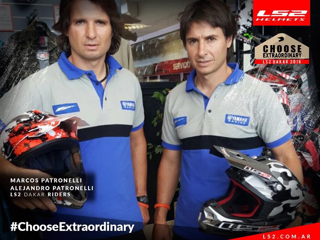 Ser extraordinarios o no ser. ¡Bienvenidos Marcos y Alejandro Patronelli al Team Oficial de LS2!  #ChooseExtraordinary #LS2Argentina