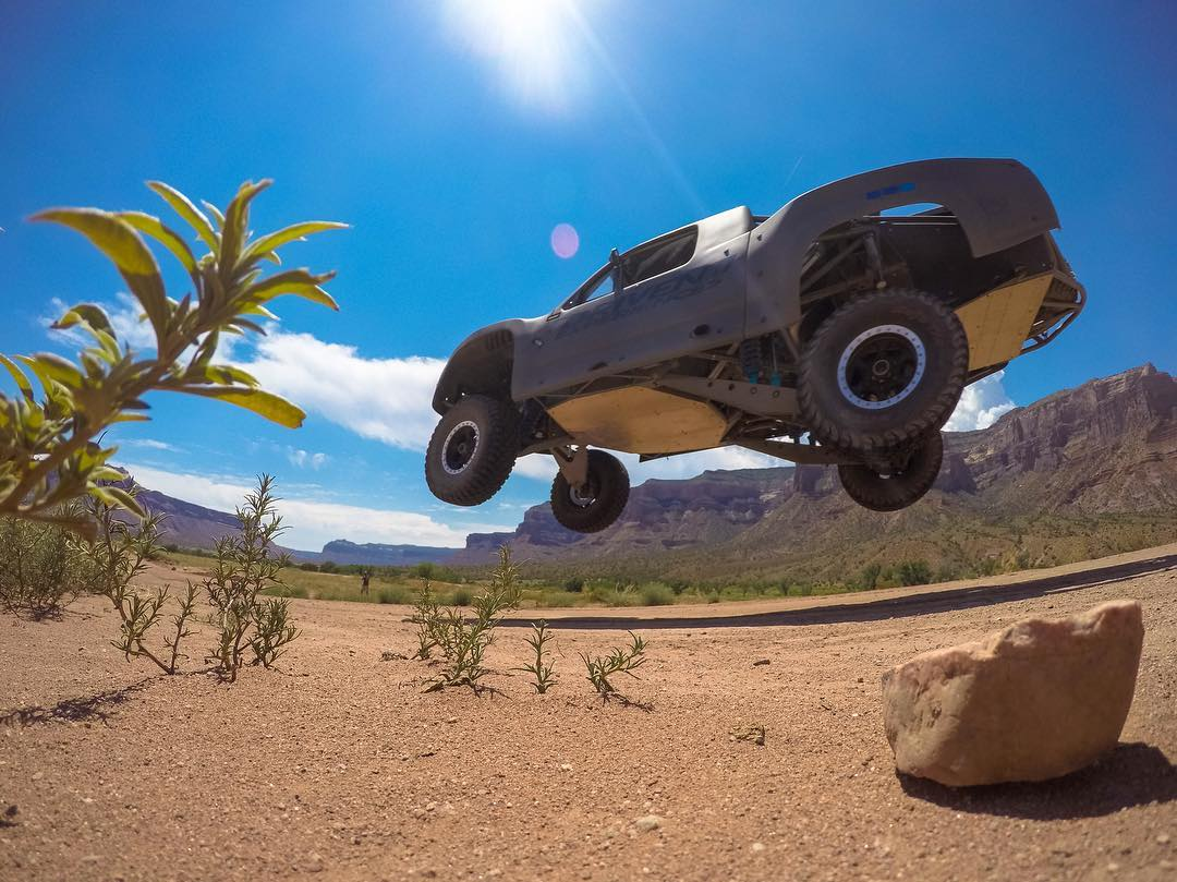 Casual #TrophyTruck cruise at @gatewaycanyons with #DrivenExperiences! #