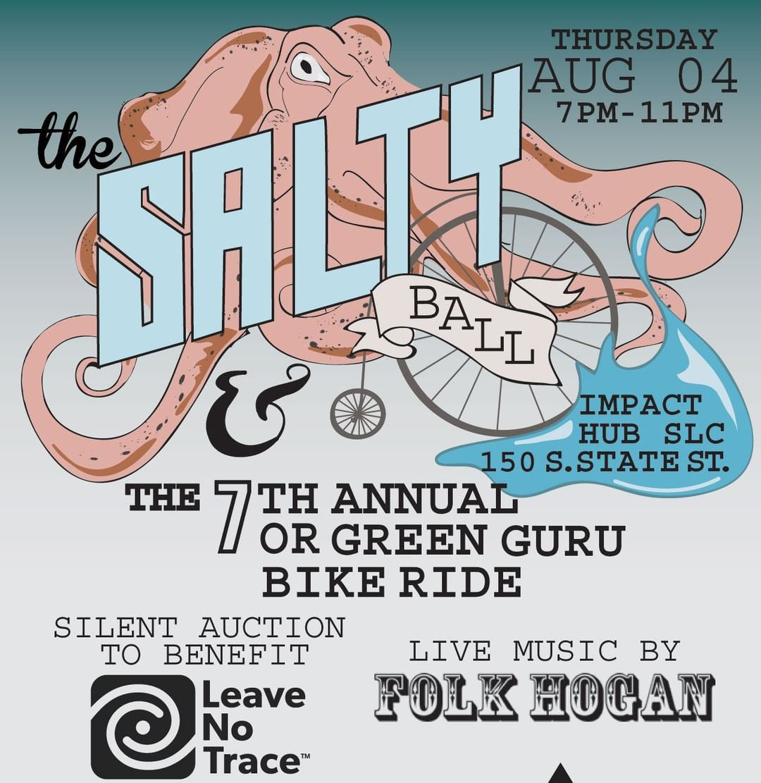 Where will you be during @outdoorretailer this year?! Green Guru and @ecovessel are celebrating The Salty Ball on August 4th, featuring local band @folkhogan and a silent auction to benefit @leavenotracecenter! The silent auction will include gear from...