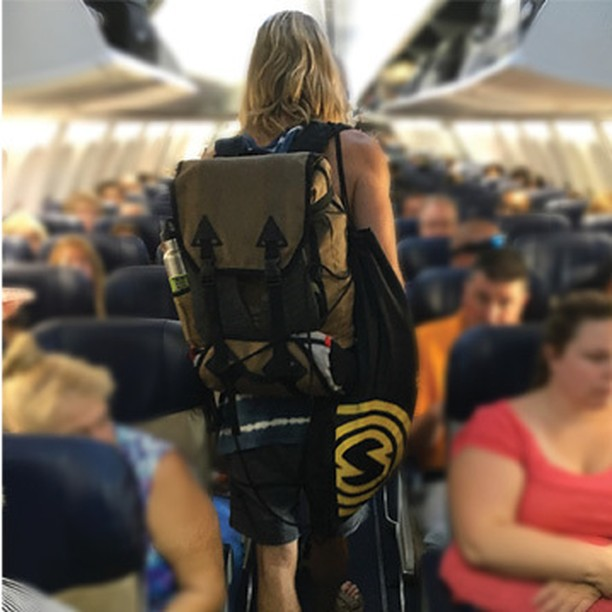 What are your #travel plans the rest of year? Here is @sullycon on his way to Lake Tahoe. That's probably one of the best places during the summer. The Stand-By Travel Pack is a simple way to carry your gear. It's a modular system allows you to carry...