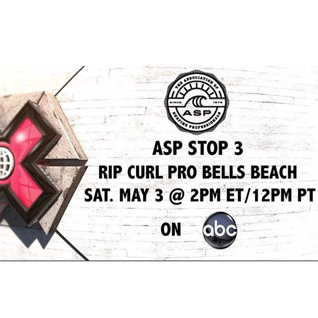 Catch the official recap show from the @asp Rip Curl Pro #BellsBeach today! #WorldOfXGames