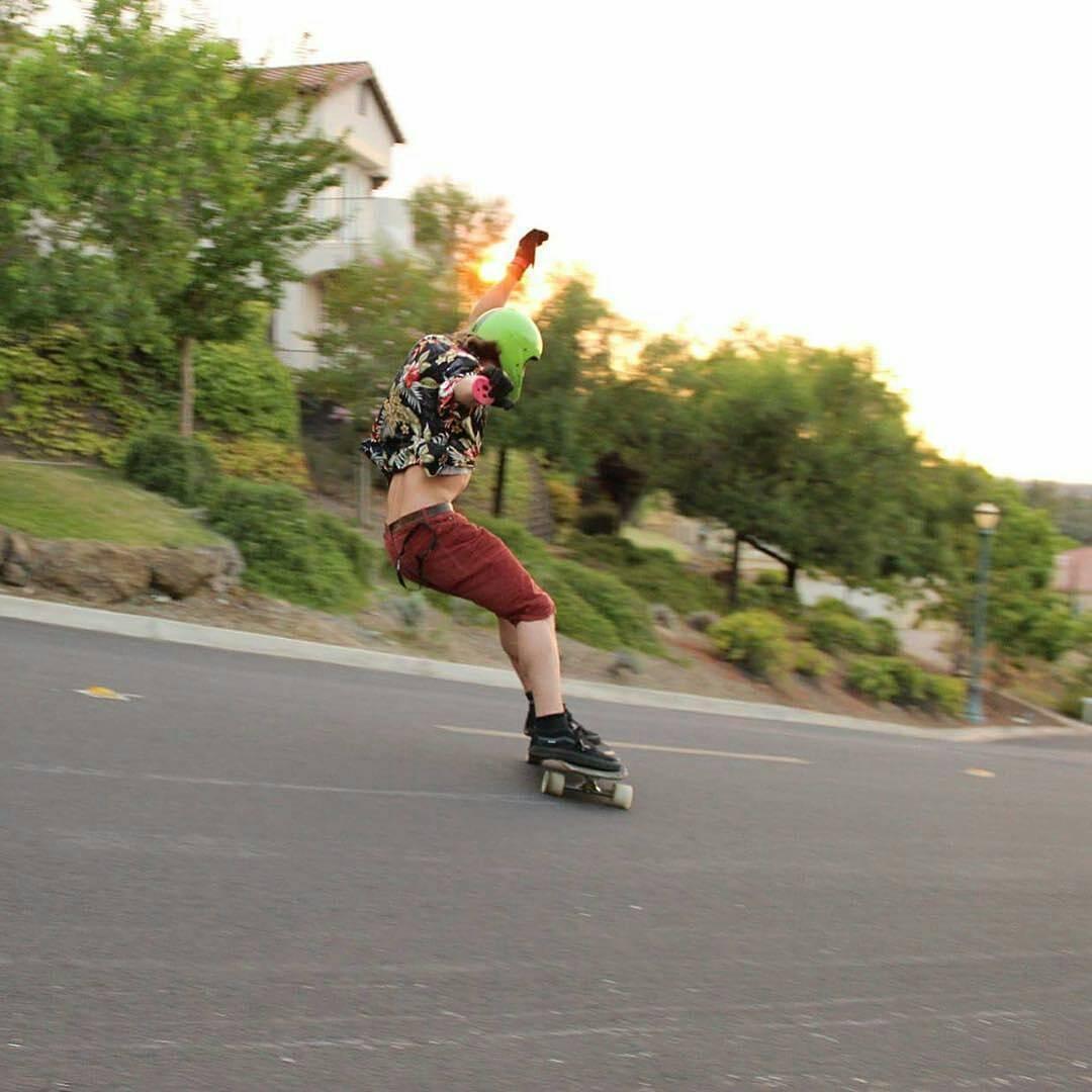 Alex Sucala--@sucalaalex fast free riding on the MC Cat!