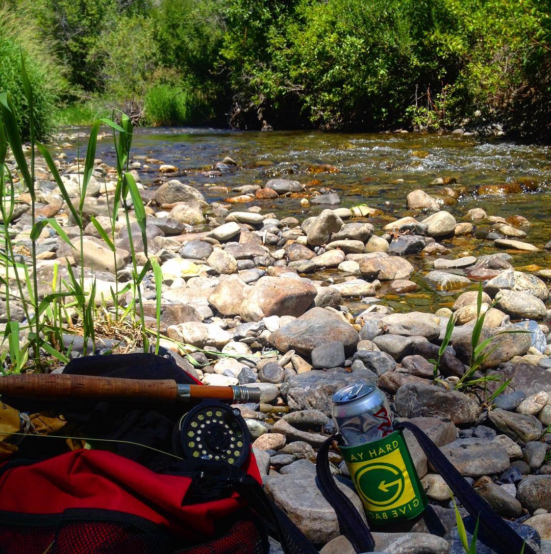 She's a SCORCHER! Hopefully ya'll are finding yourselves with a Flyrod, cold beer and a #phgb coozie on this hot summer day.  Time to get out of the office and find myself a river.