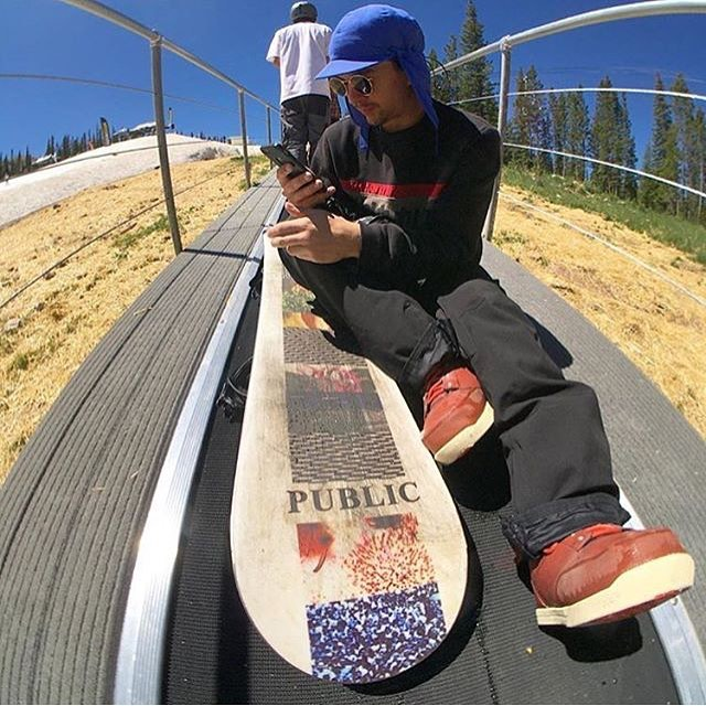 Do you think @joesexton1817 has this move on the @highcascade rope tow? Tune in on the glacier to find out! #coalheadwear #PinnacleHat #regram