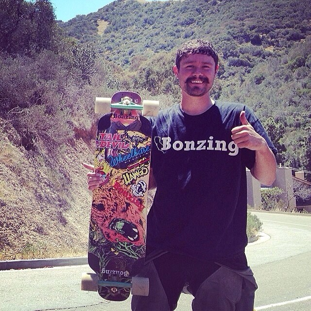 We are all wishing Team rider Michael Carson--@mcarsonlikescats the best of luck at the Catalina Island Classic this weekend.  Knock em dead!  #michaelcarson #bonzing #catalinaislandclassic2014 #oso