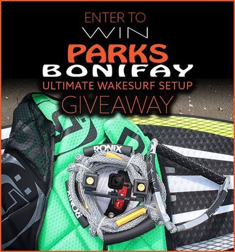 Don't forget to enter @parxxx 's Ultimate Wakesurf Giveaway. Details are in the link in our bio. @lumecube @wakemakers #oneloveinwake #fortifiedwithlakevibes #ronix2016 #ronixwakesurf