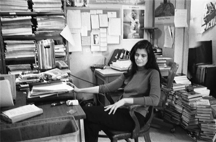 """My library is an archive of longings."" 