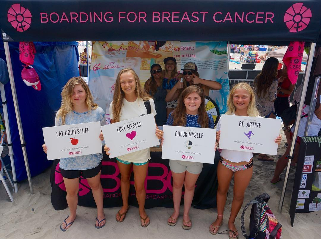 TAKE US BACK! We had such an amazing time at the @supergirlpro in Oceanside last weekend. Thanks to everyone who came out for a full weekend of surfing, sunshine, and smiles! Check out the full recap of our weekend on the blog | b4bc.org/blog