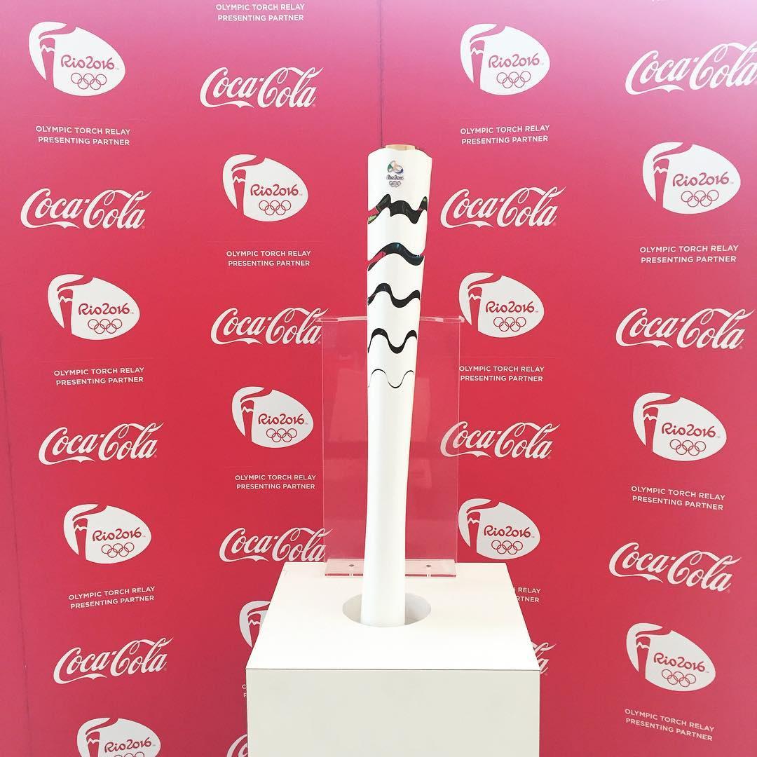 Tocha olímpica #Rio2016