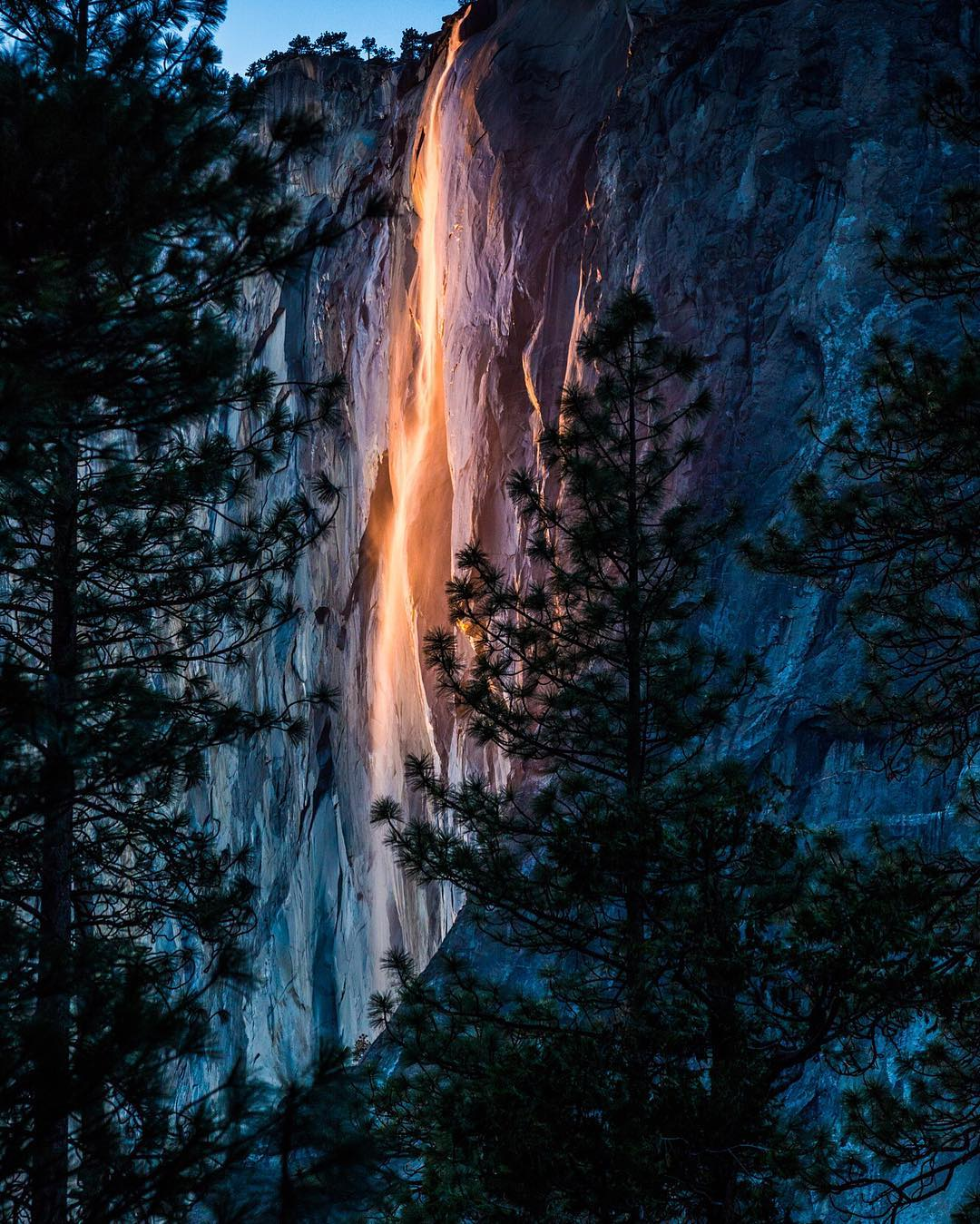 "RADPARKS TAKEOVER @christinhealey ""Yosemite: ""'Firefall' is one of those phenomenas that you just have to see to believe."" #yosemitenationalpark #radparks"