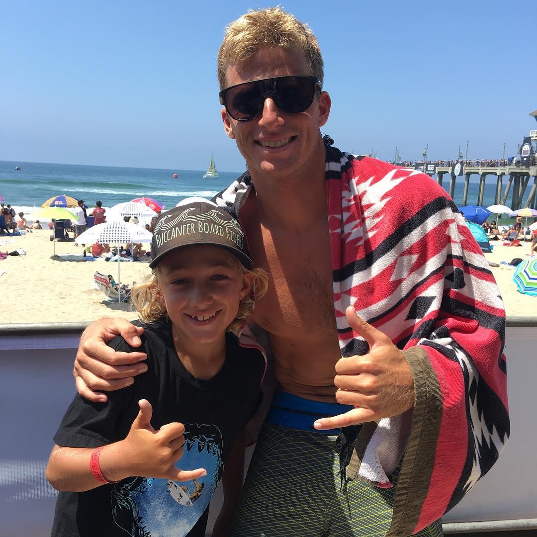 Such an amazing person and insane surfer, Seabass!  Love Sebastian Zietz. #usopen #huntingtonbeach #seabass #sebastianzietz