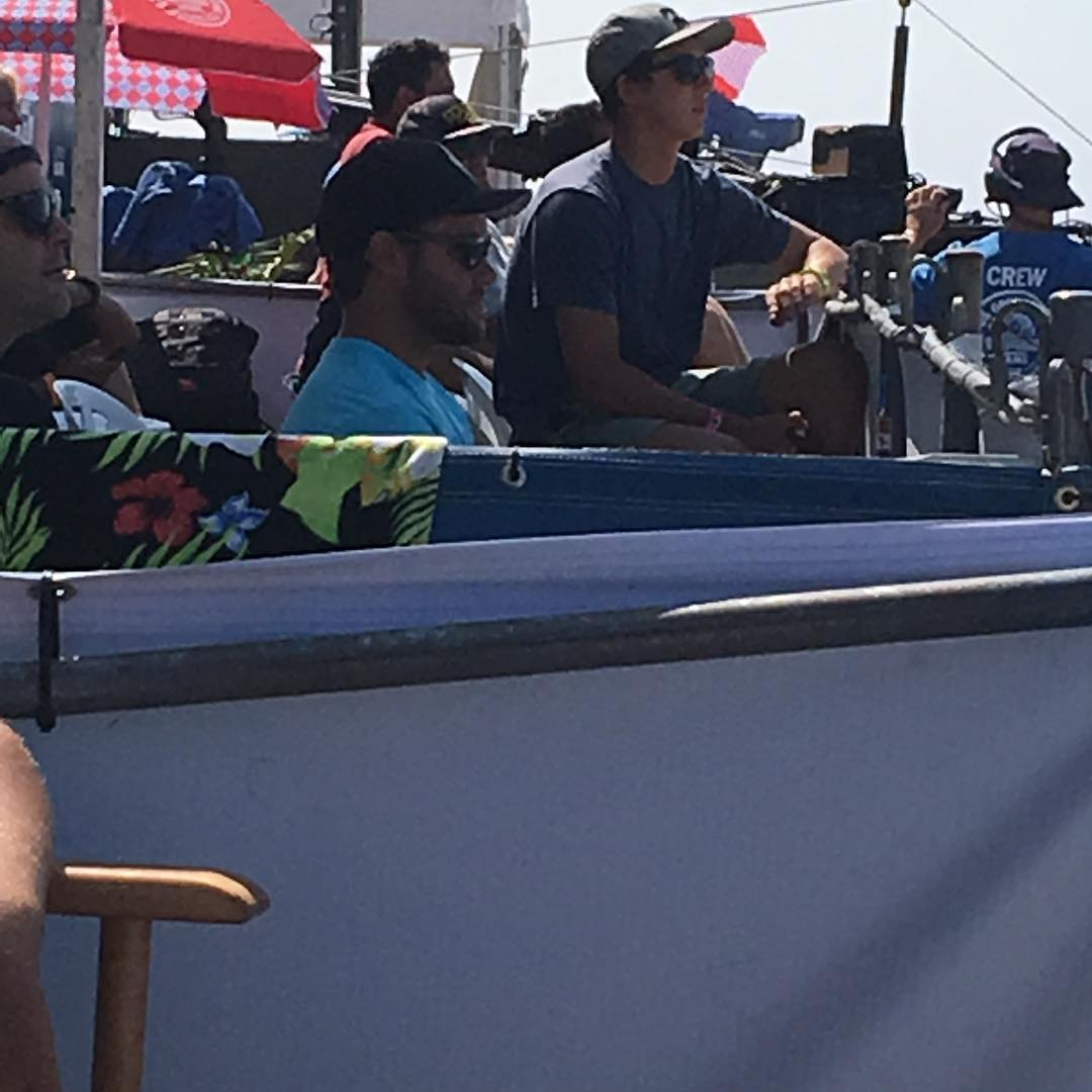 Getting in the zone. #bbrsurf #teamrider #grangerlarsen #usopen #huntingtonbeach