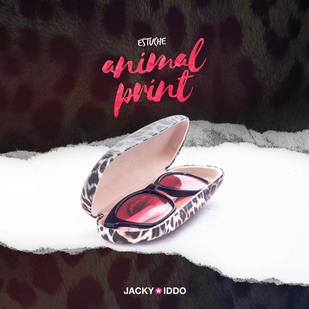 ★ Estuche Animal Print ★  Con interior gamuzado, para que guardes tus #JackyIddo