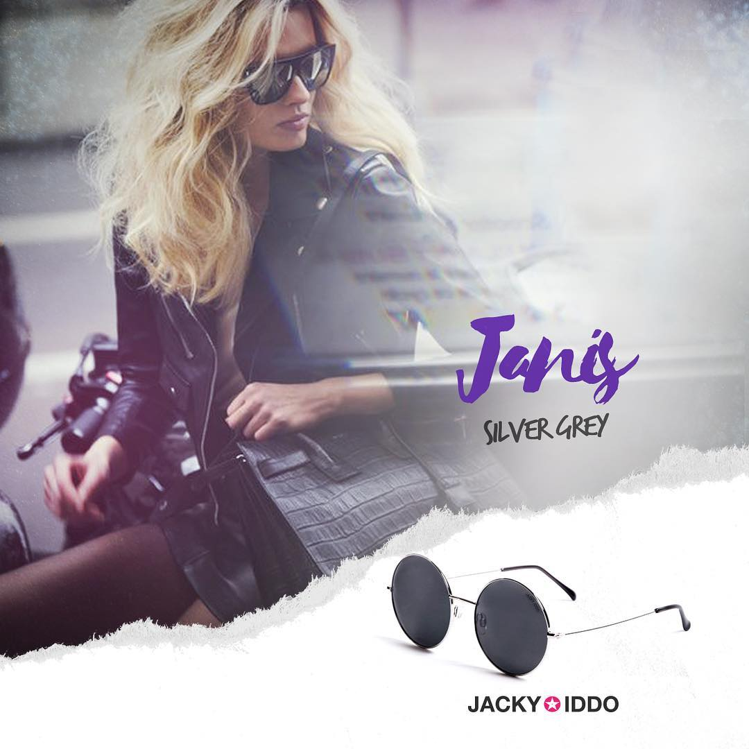 Janis Silver Grey  #NEW #JackyIddo #vintage #vintagestyle #vintagelens