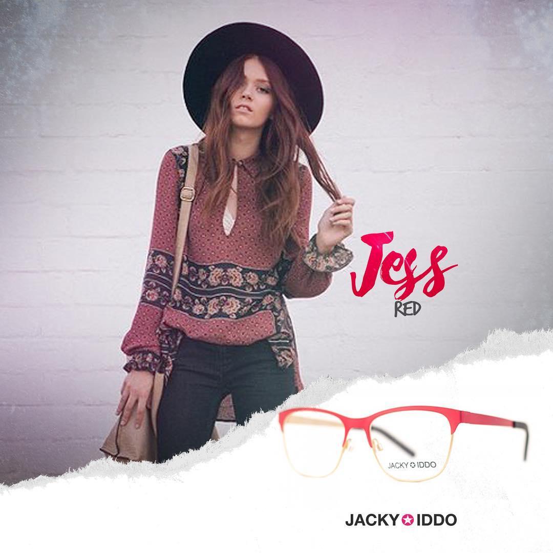 ★ Jess Red ★  Conocé la nueva colección de lentes de receta #NEW #JackyIddo