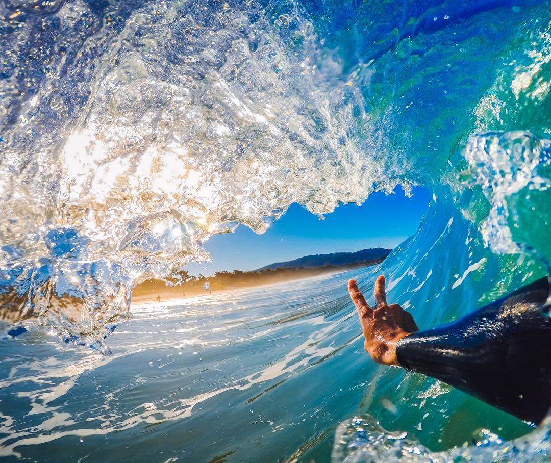 Photo of the Day! It's #Friday and @toppshots has the right idea...Time to ✌️ out for the weekend! What's good for the weekend? Share with us in the comments! #GoPro #GoProSurf #Surfing #Waves #