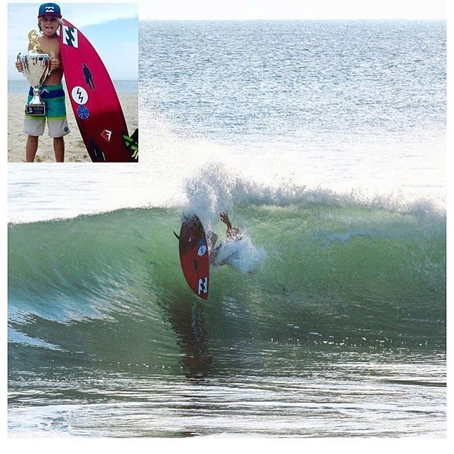 What do you get when you mix a powerhouse dad @petemendia and radical mom @ali3mendia together? You get something epic, or @k_epic_mendia_ ! Watch out for this grom, because he's only 9 and doing turns like a 20 year old already. Glad to call these rad...