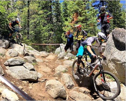 The Kali Road Warrior at @ca_enduro - China Peak was a success! With over 400 registered racers and a gnarly rock garden, bails were almost inevitable. Having the Road Warrior on sight, these riders were able to trade in, and get back on the trails ||...