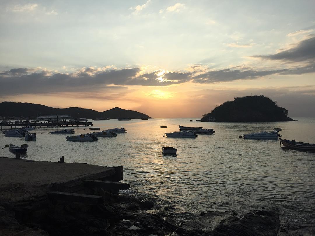 Pôr do sol #Buzios #PressTrip #Rio2016