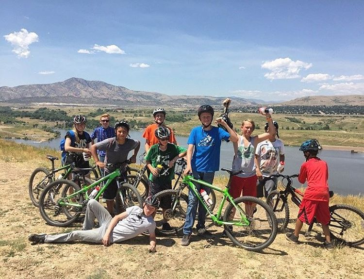 Across our locations, SOS youth have been enjoying the thrills of #mountain #biking and beautiful #summer days.