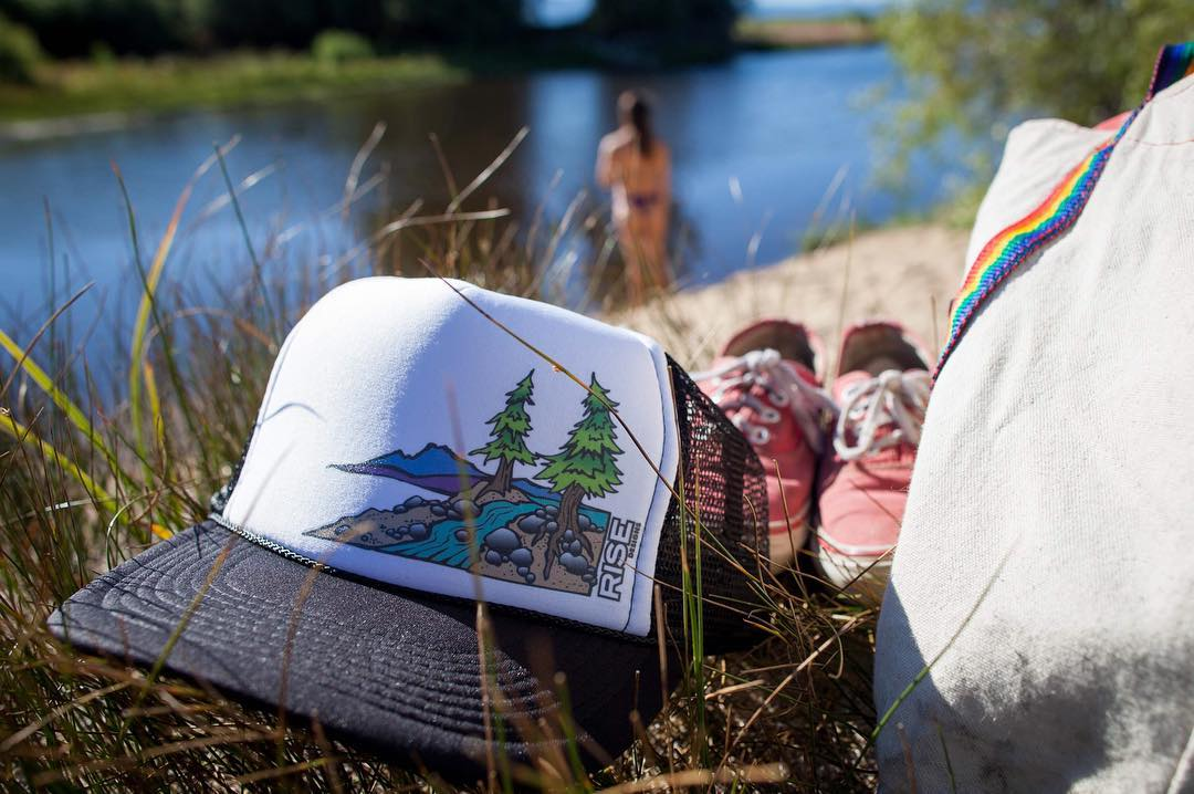 Weekend vibes. Time to get outside and enjoy nature. Truckee River hat in its element.