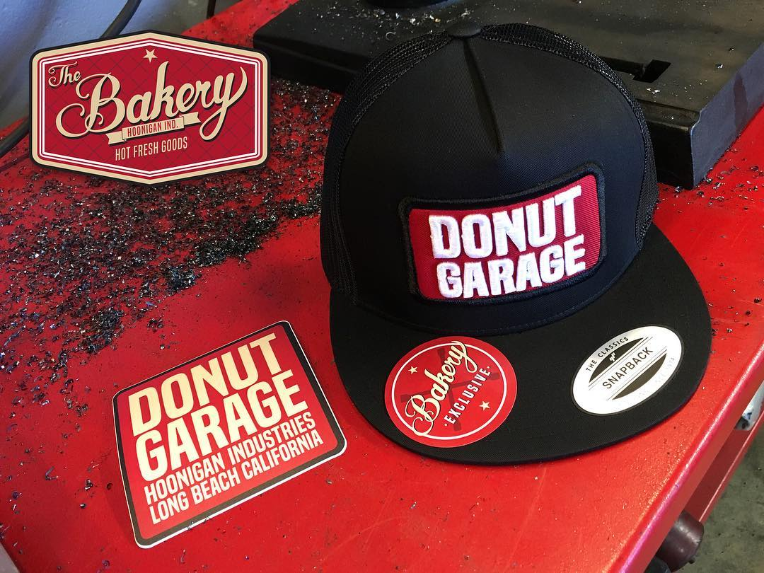 The #DonutGarage Bakery is open Saturdays 12-5pm. Stop in and grab some gear that is only available here. #supporthooniganism ________ 621 Golden Ave Long Beach, CA 90802