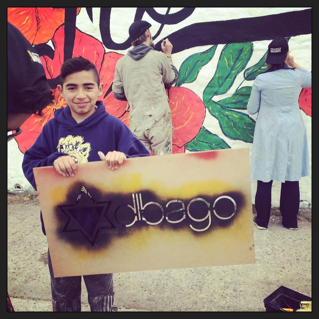 Yo creo, yo me elijo #yosoydibago #darte #mural