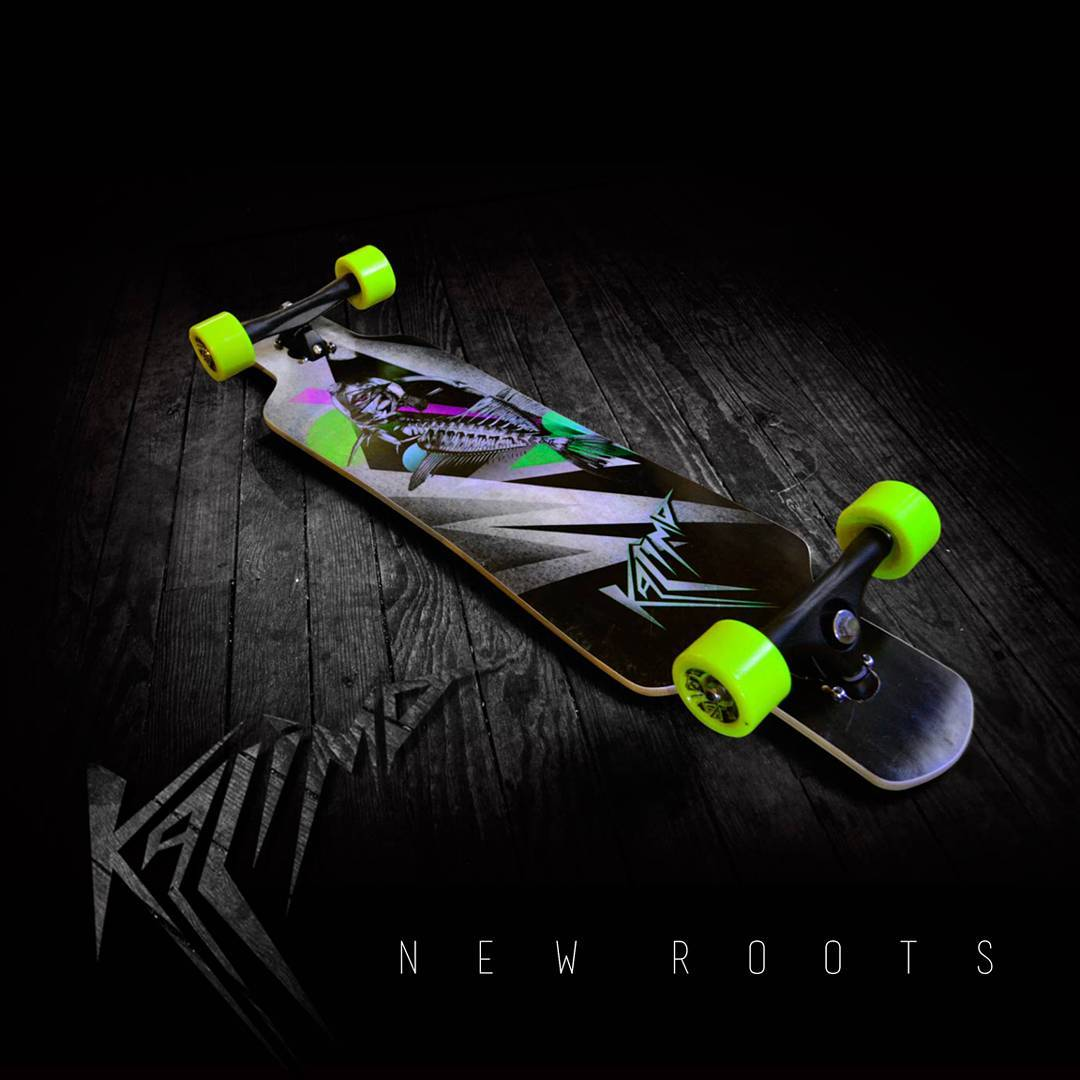 New Kalima Roots #kalimaboards #freeride #longboarding #skatelife